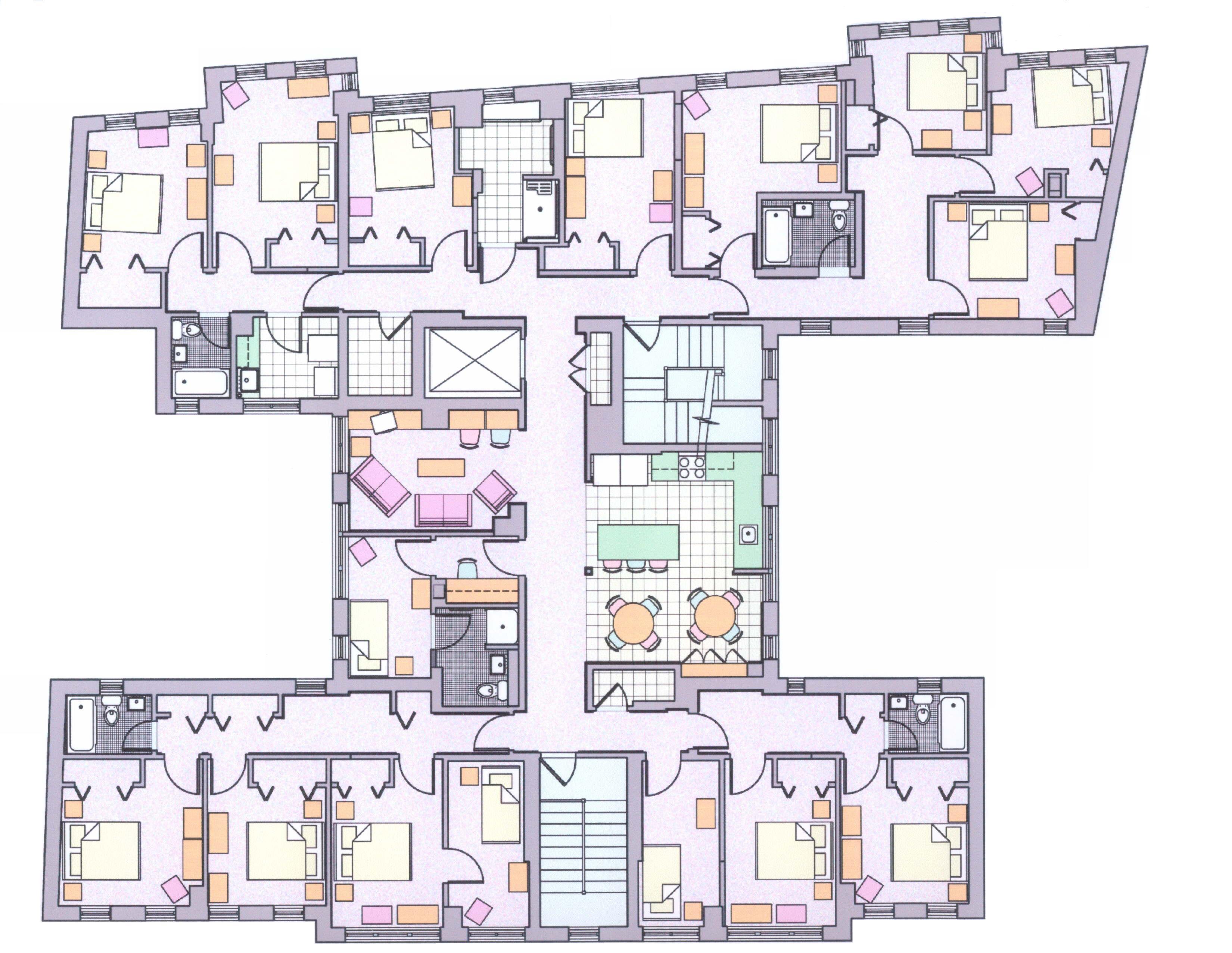 Small hospital floor plans - Sterchi Homes Floor Plans